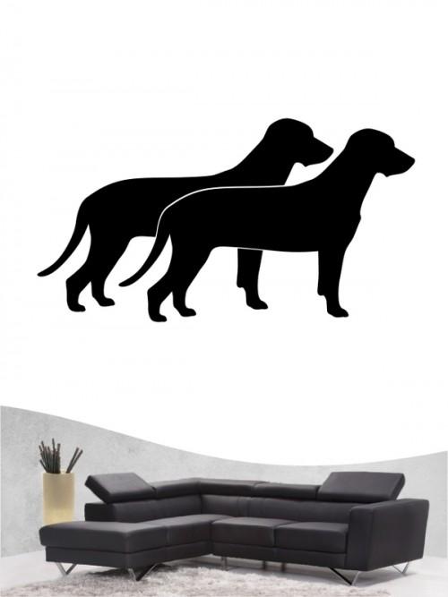 Bayerischer Gebirgsschweißhund 2 - Wandtattoo
