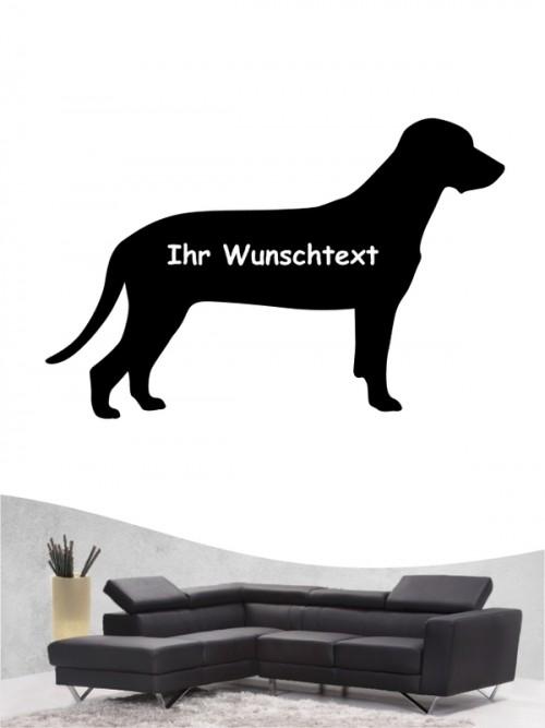 Bayerischer Gebirgsschweißhund 3 - Wandtattoo