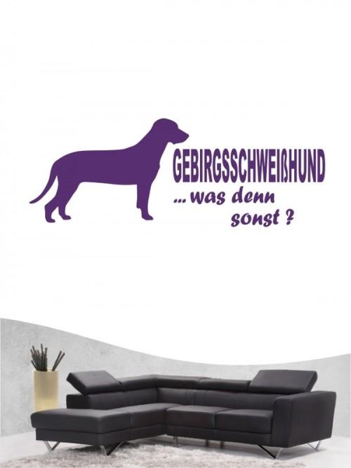 Bayerischer Gebirgsschweißhund 7 - Wandtattoo