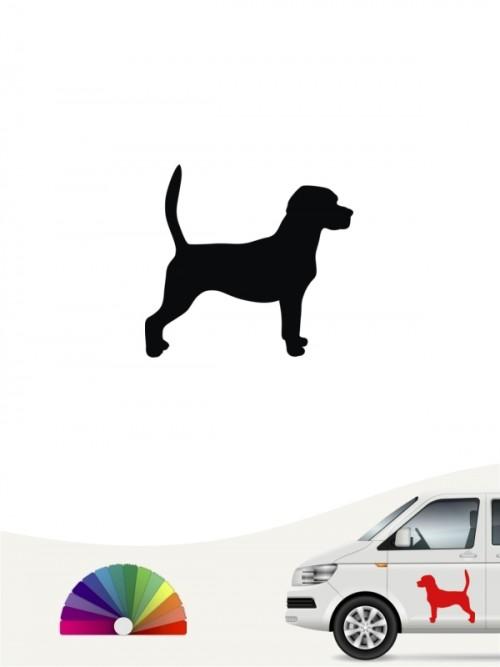 Beagle Autosticker anfalas.de