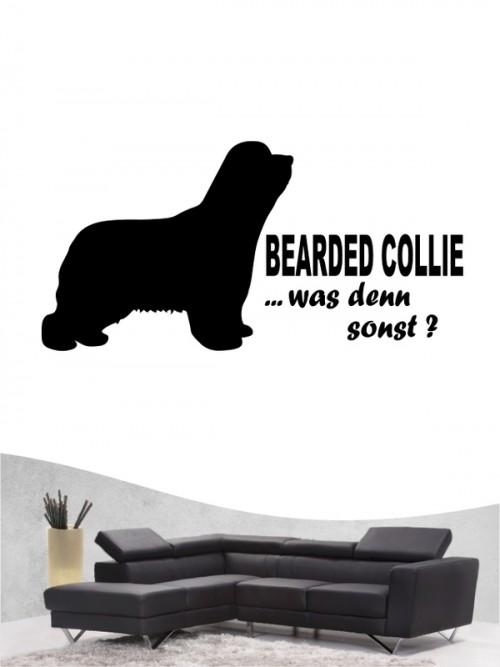 Bearded Collie 7 - Wandtattoo