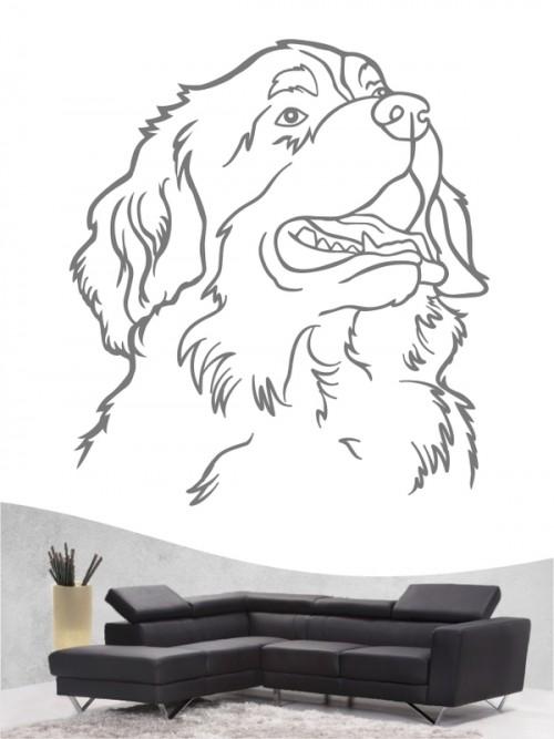 Berner Sennenhund 11 - Wandtattoo