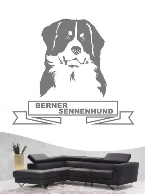 Hunde-Wandtattoo Berner Sennenhund 15 von Anfalas.de