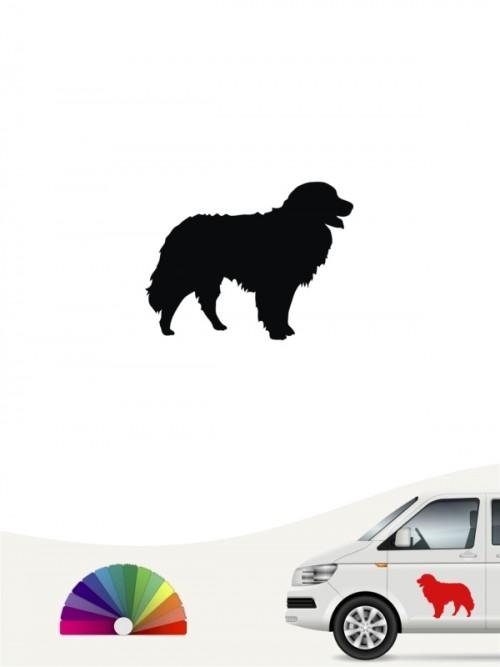 Berner Sennenhund Autoaufkleber anfalas.de