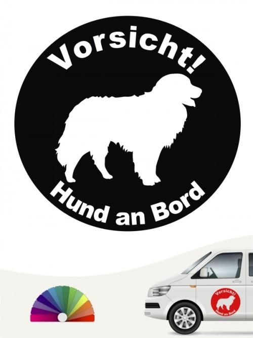Berner Sennenhund Aufkleber anfalas.de