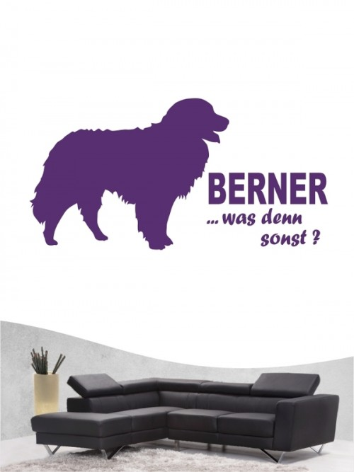Berner Sennenhund 7 - Wandtattoo