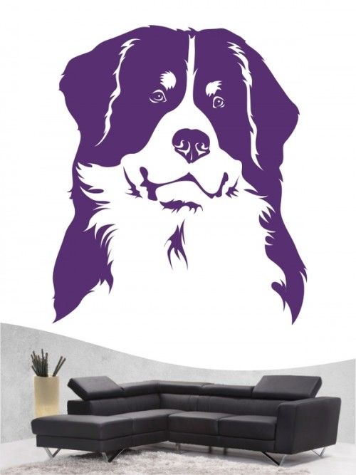 Berner Sennenhund - Wandtattoo