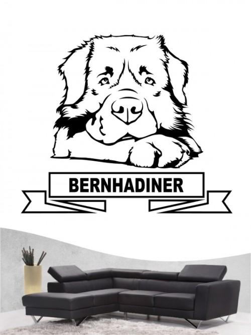 Hunde-Wandtattoo Bernhardiner 15 von Anfalas.de