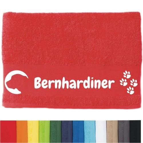 """DOG - Handtuch """"Bernhardiner"""" von anfalas.de"""