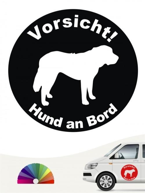 Bernhardiner Aufkleber anfalas.de