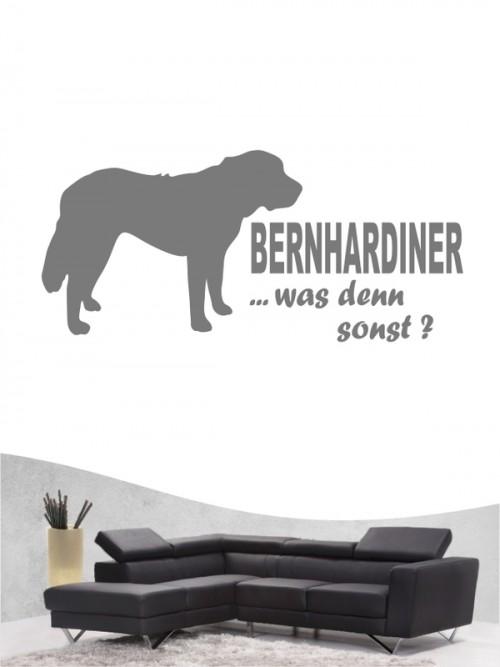 Bernhardiner 7 - Wandtattoo