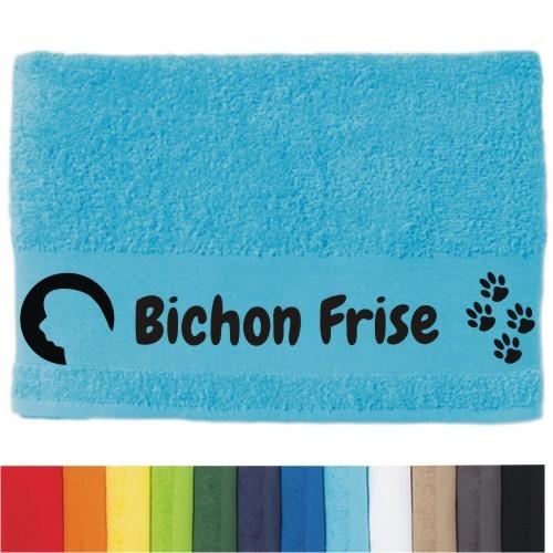 """DOG - Handtuch """"Bichon Frise"""" von anfalas.de"""