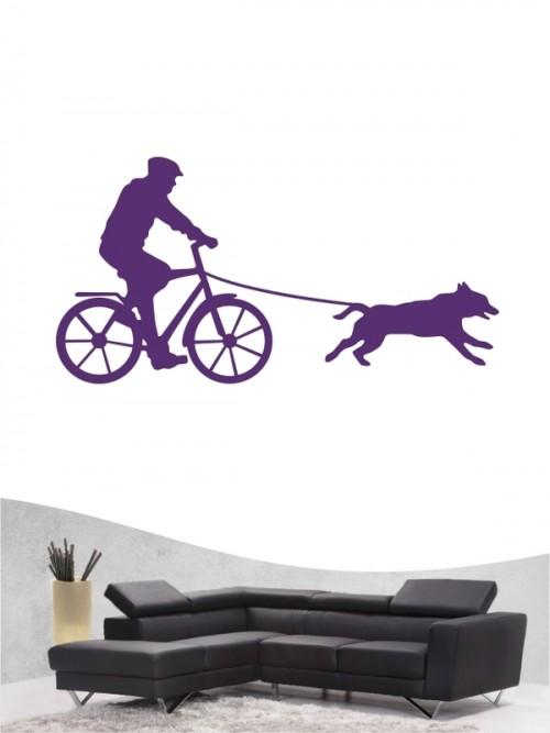 Bikejöring 2 - Wandtattoo