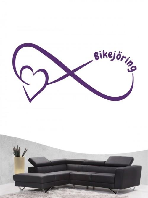 Bikejöring 40 - Wandtattoo