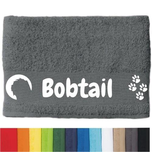 """DOG - Handtuch """"Bobtail"""" von anfalas.de"""