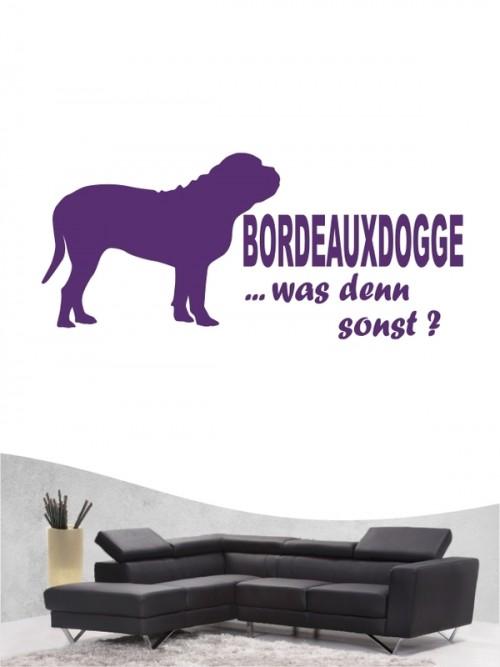 Bordeauxdogge 7 - Wandtattoo