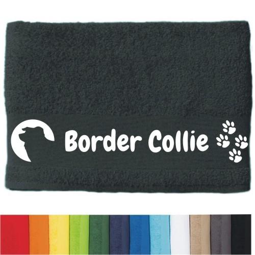 """DOG - Handtuch """"Border Collie"""" von anfalas.de"""