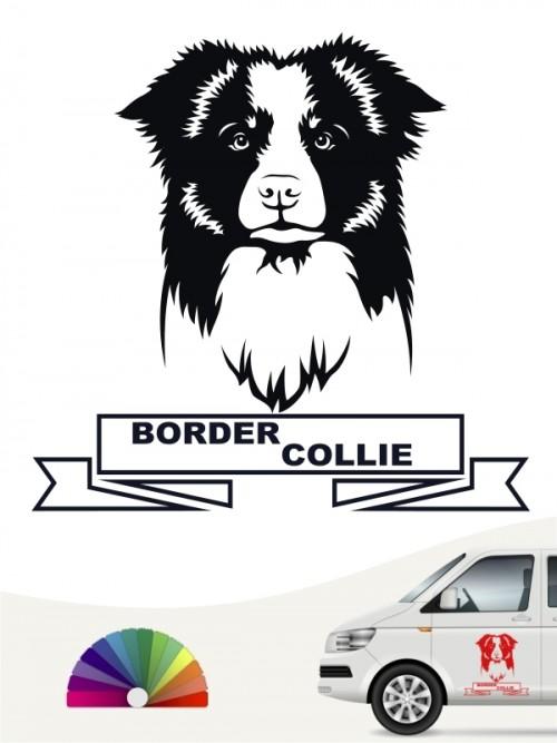 Hunde-Autoaufkleber Border Collie 15a von Anfalas.de