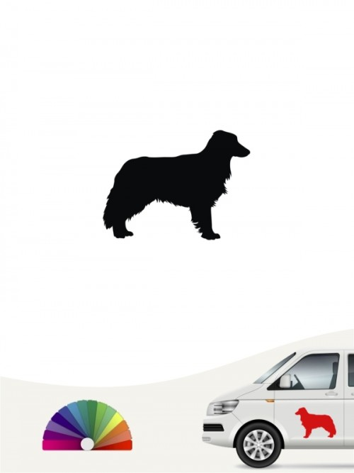 Hunde-Autoaufkleber Border Collie 1c Mini von Anfalas.de