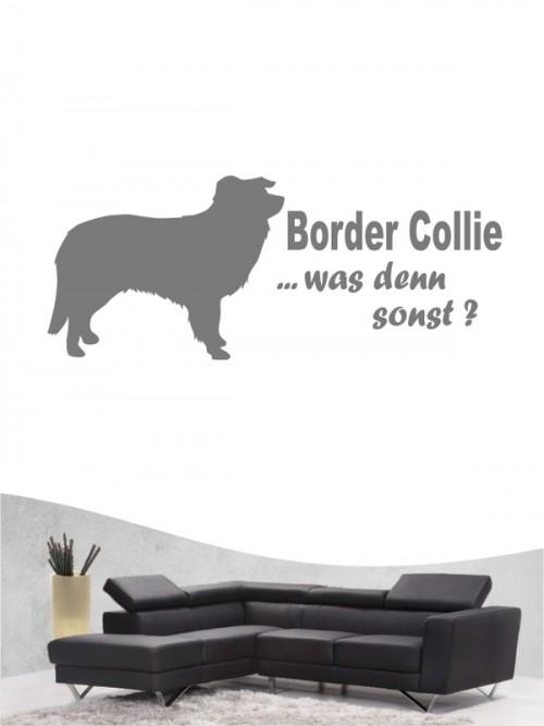 Border Collie 7 - Wandtattoo