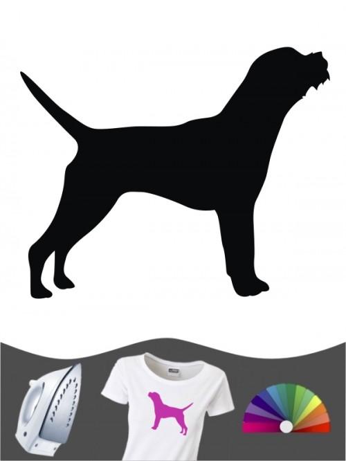 Border Terrier 1 - Bügelbild