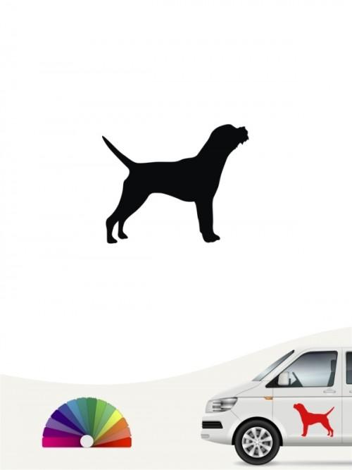 Hunde-Autoaufkleber Border Terrier 1 Mini von Anfalas.de