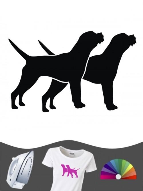 Border Terrier 2 - Bügelbild