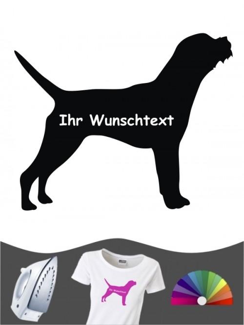 Border Terrier 3 - Bügelbild
