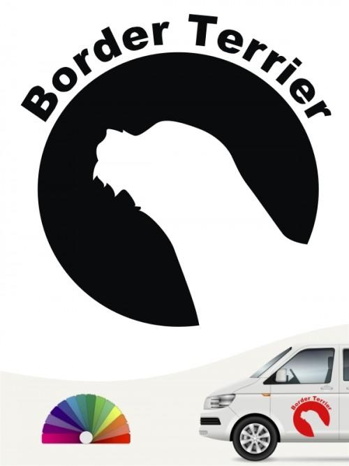 Border Terrier Aufkleber von anfalas.de