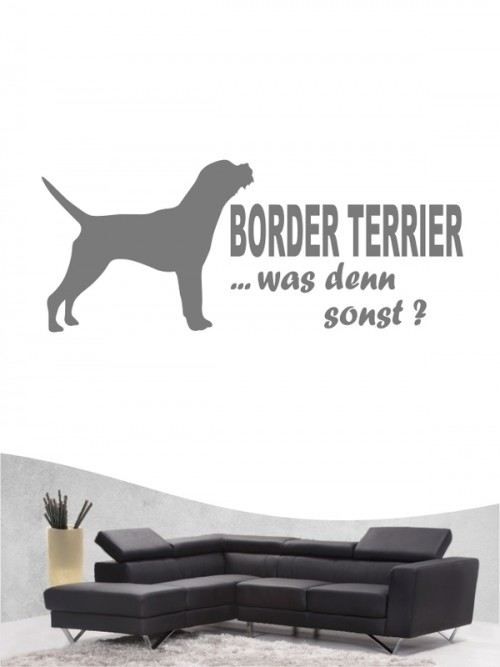 Border Terrier 7 - Wandtattoo