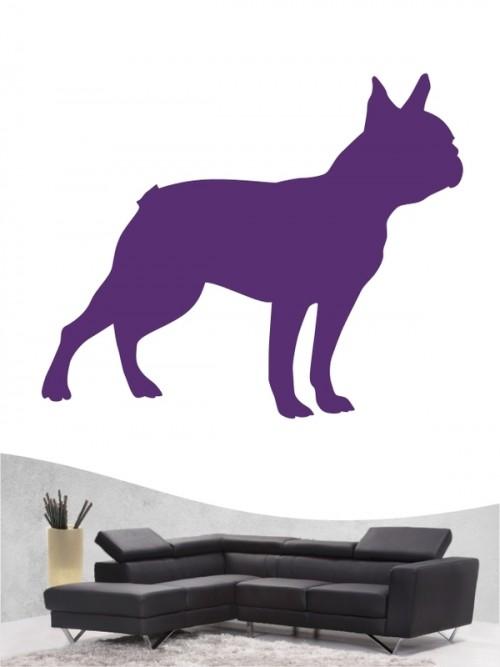 Boston Terrier 1 - Wandtattoo