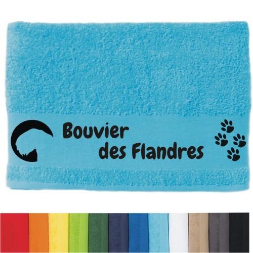"""DOG - Handtuch """"Bouvier des Flandres"""" von anfalas.de"""