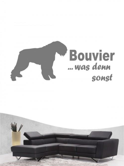 Bouvier des Flandres 7 - Wandtattoo