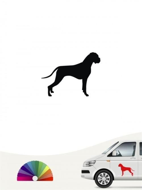 Hunde-Autoaufkleber Boxer 1a Mini von Anfalas.de