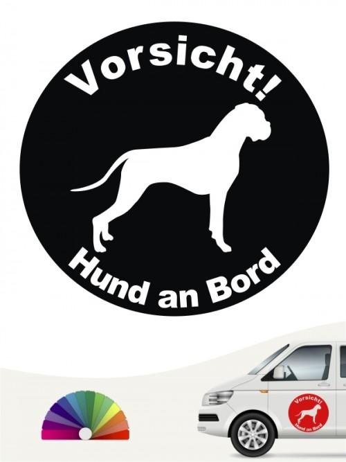 Boxer  Aufkleber von anfalas.de
