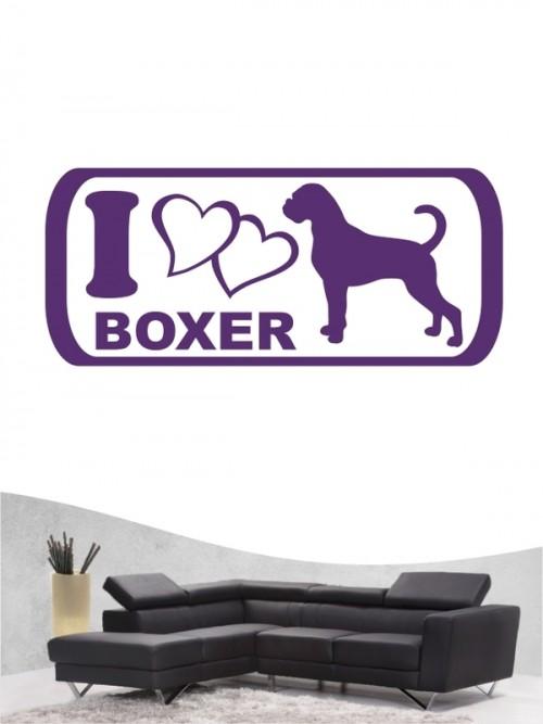 Boxer 6 - Wandtattoo