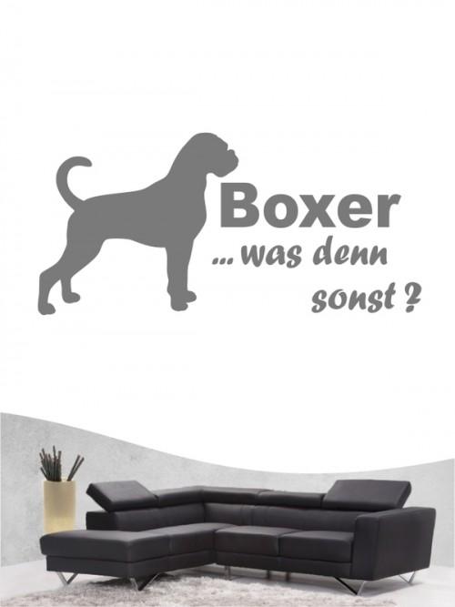 Boxer 7 - Wandtattoo