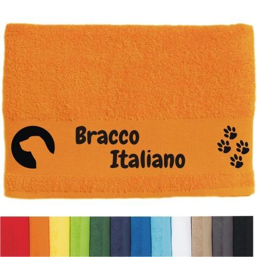 """DOG - Handtuch """"Bracco Italiano"""" von anfalas.de"""