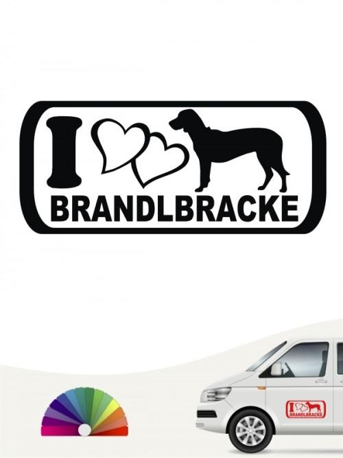 I Love Brandlbracke Autoaufkleber anfalas.de