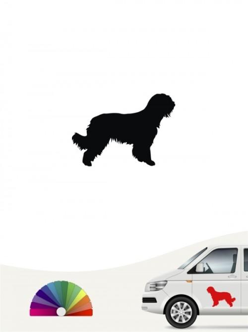 Hunde-Autoaufkleber Briard 1 Mini von Anfalas.de