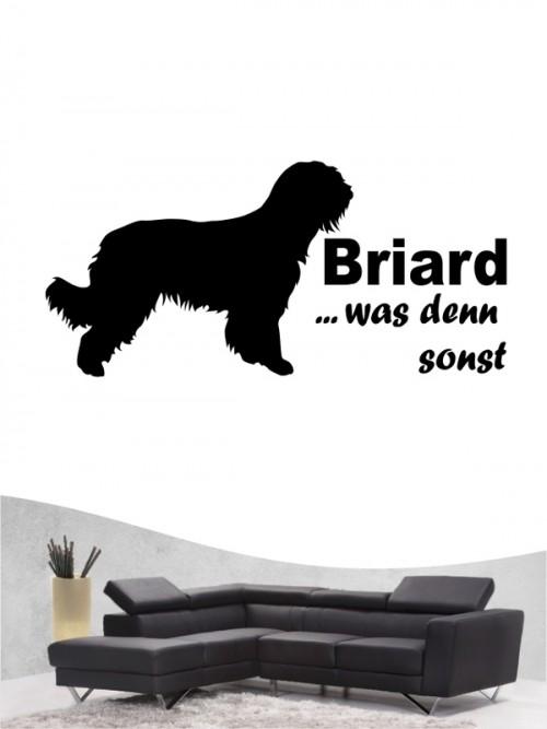 Briard 7 - Wandtattoo