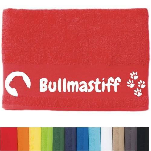 """DOG - Handtuch """"Bullmastiff"""" von anfalas.de"""