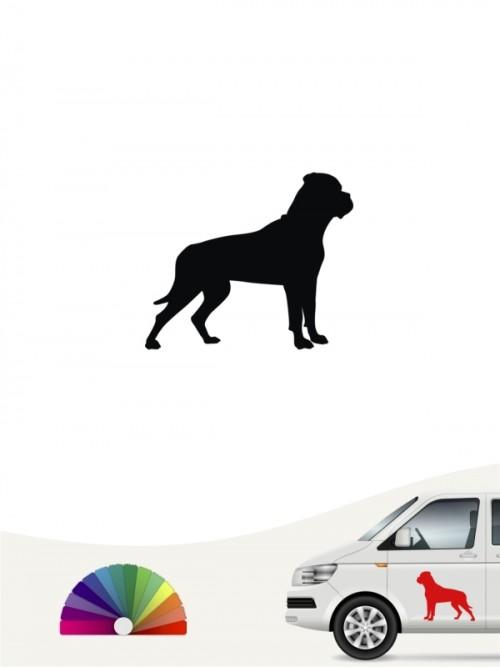 Hunde-Autoaufkleber Bullmastiff 1 Mini von Anfalas.de