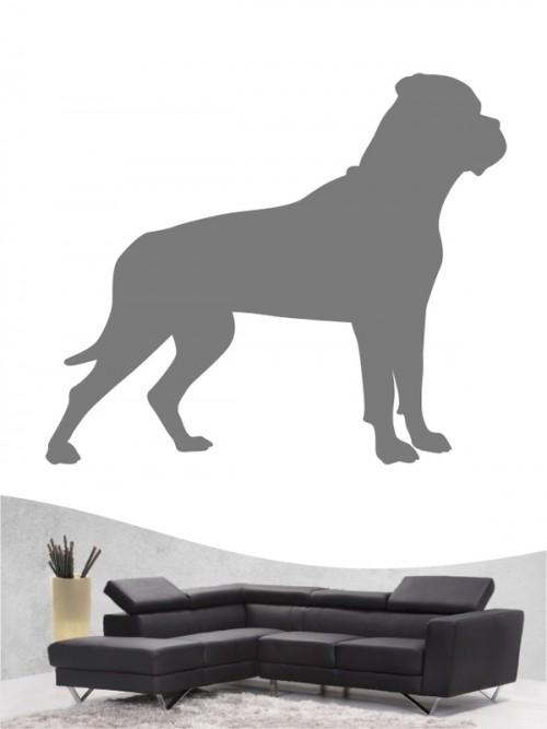 Bullmastiff 1 Wandtattoo