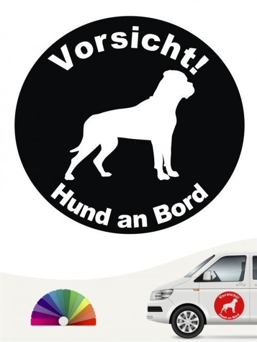 Bullmastiff Aufkleber von anfalas.de