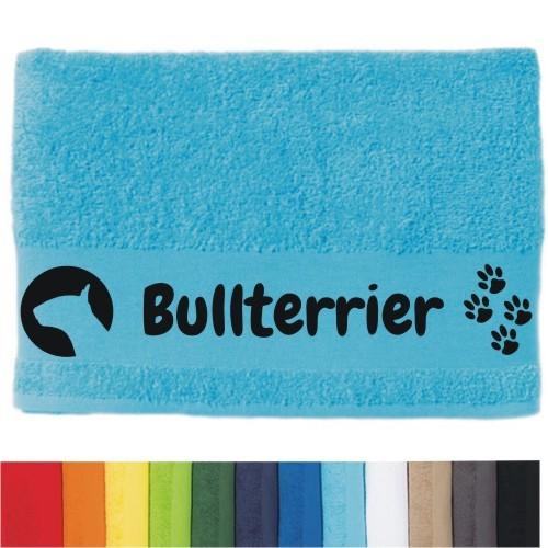 """DOG - Handtuch """"Bullterrier"""" von anfalas.de"""