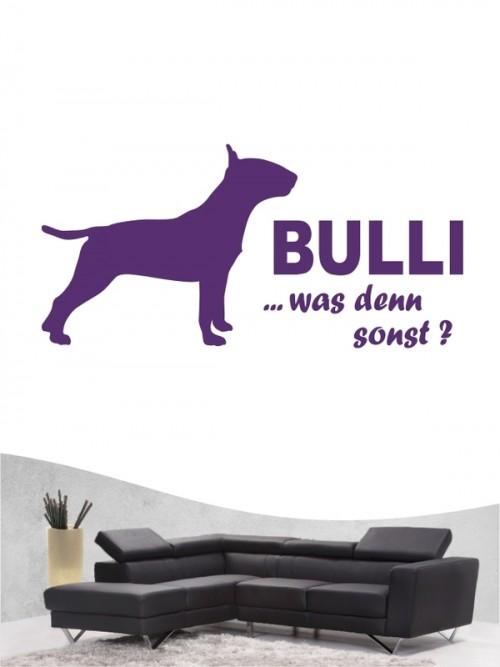 Bullterrier 7 - Wandtattoo