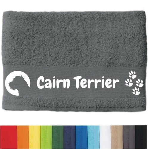 """DOG - Handtuch """"Cairn Terrier"""" von anfalas.de"""
