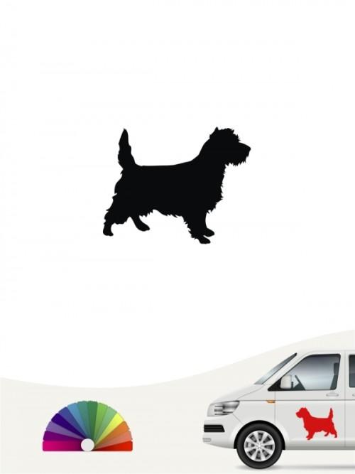 Hunde-Autoaufkleber Cairn Terrier 1 Mini von Anfalas.de