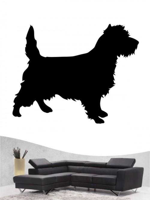 Cairn Terrier 1 Wandtattoo